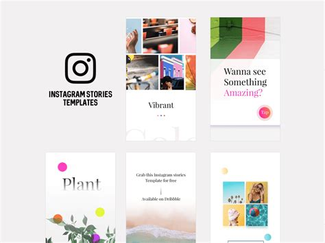 Free Instagram Stories Templates Fluxes Freebies Free Instagram Template