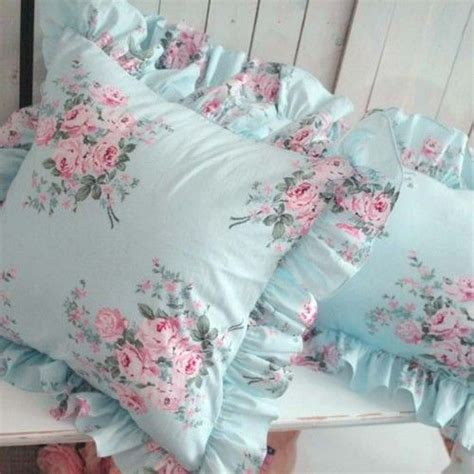 shabby chic pillow covers and fabrics on pinterest