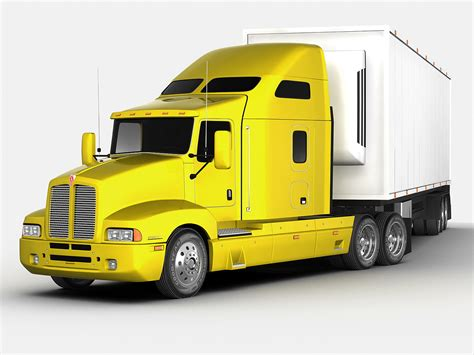 kenworth models kenworth t600 3d models cgtrader com