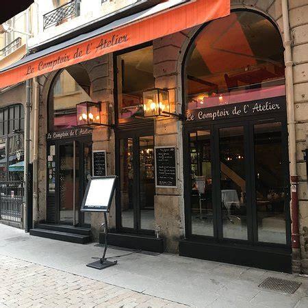 le comptoir de l atelier lyon restaurant avis num 233 ro