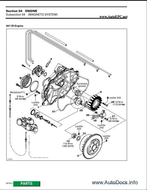 seadoo parts diagram 1996 sea doo gtx engine diagram kawasaki mojave 250 engine