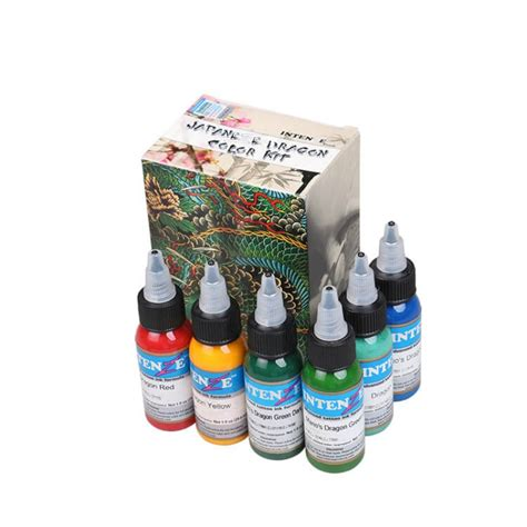 intenze tattoo ink sets intenze color ink set