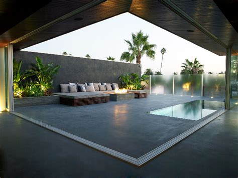 modern rooftop outdoor entertainment area modern pool los angeles by gregory greenwood