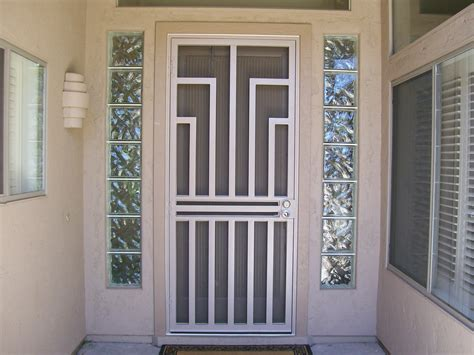 Decorative Security Doors by Decorative Security Screen Doors Pilotproject Org