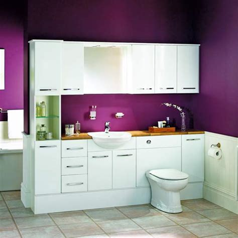 Bathroom Furniture B Q Fitted Bathrooms Ideal Home