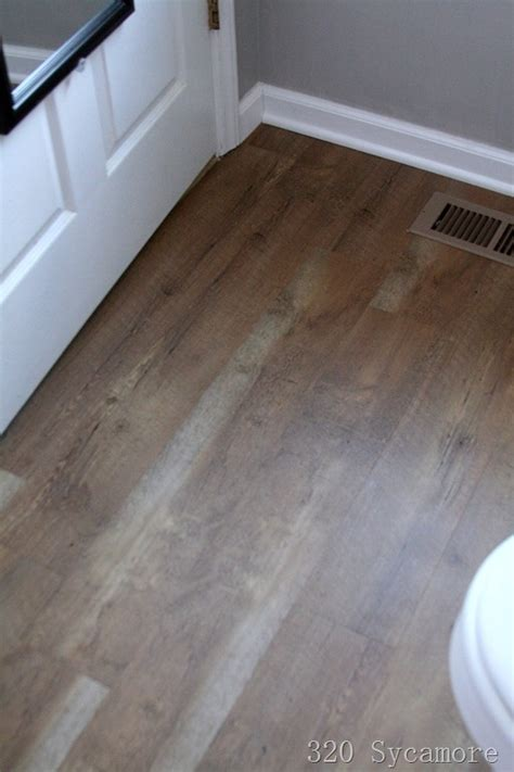 allure bathroom flooring home depot allure laminate flooring in pacific pine