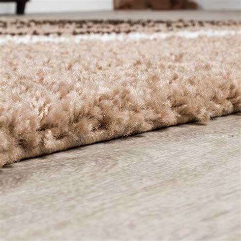 teppich preis moderner hochflor teppich shaggy vigo gemustert in braun