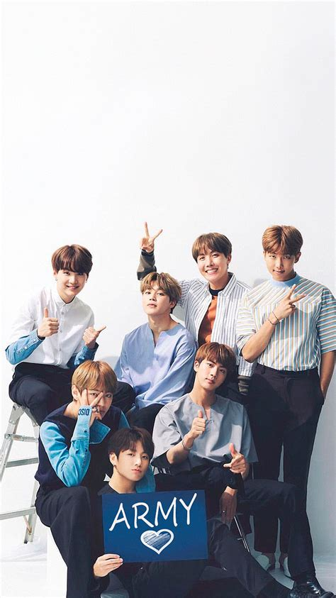 bts group wallpaper they really had an army sign i m in awe jungkook