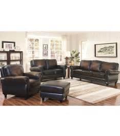 Living Room Set Leather Living Room Sets Venezia 4 Leather Set