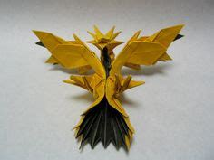 Zapdos Papercraft - origami on origami and origami tutorial