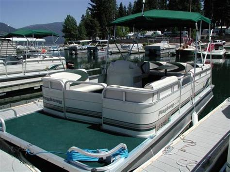 used pontoon boats for sale in upper michigan wood boat plans grady white