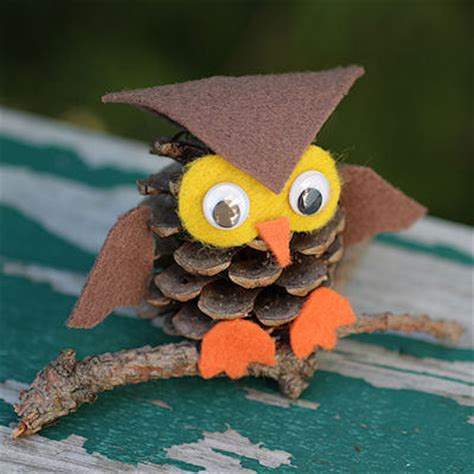 An Owl Papercraft At Bandung Car Free Day Canon Ae 1 - pinecone owl family crafts