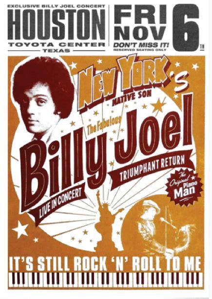 billy joel  toyota center houston tx november   set list concert reviews billy