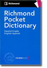 Dictionary Richmond diccionarios richmond pocket dictionary cd rom varios
