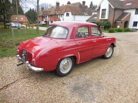 renault dauphine for sale 1961 renault dauphine for sale classic car ad from