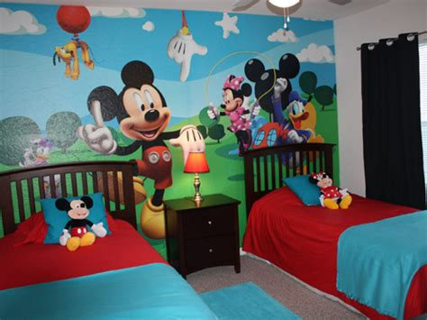 great mickey mouse bedroom ideas  kids  homearena