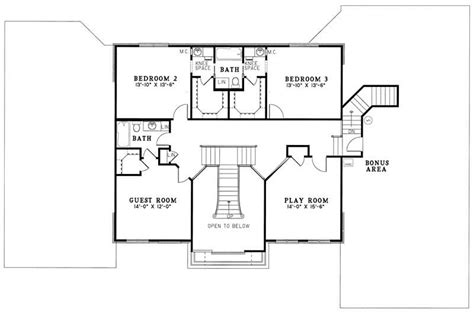 georgian home floor plans georgian house plan 4 bedrms 3 5 baths 4472 sq ft
