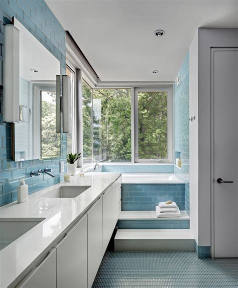 blue gray bathroom ideas 2018 45 blue master bathroom ideas for 2018