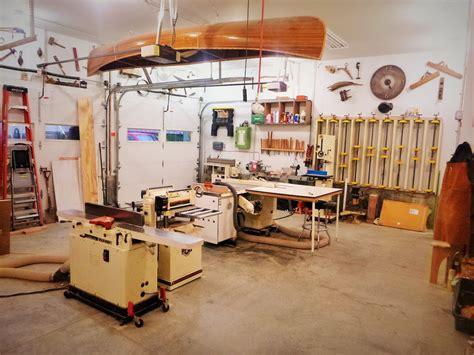 garrett s garage wood shop the wood whisperer