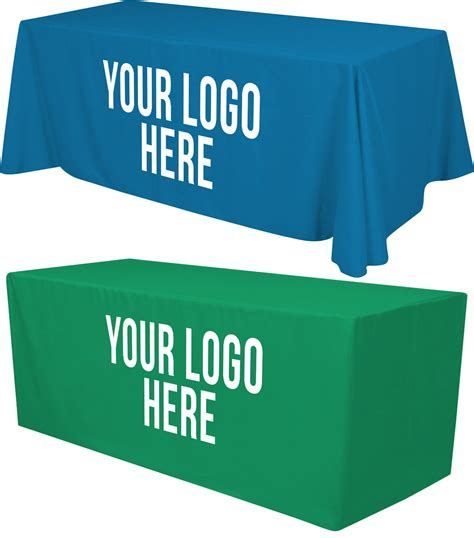 table covers with logo table covers throws franklin sign company