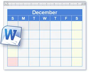 calendar and schedule templates