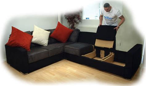 do you need to get a sofa up a narrow staircase