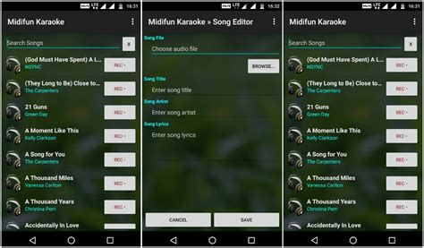 karaoke app android best karaoke apps for android ubergizmo