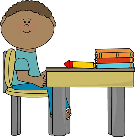 student sitting at desk student sitting at desk clipart cliparts co