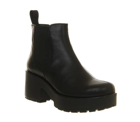 womens vagabond dioon elastic chelsea boots exclusive