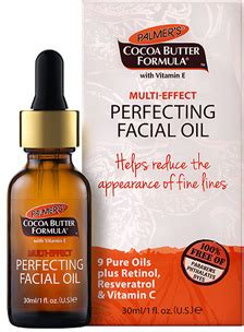 palmer's multi effect perfecting facial oil reviews