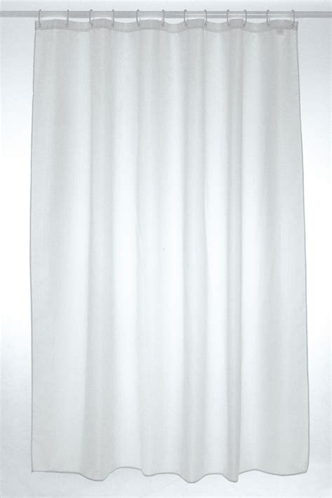 polyester shower curtain white plain polyester shower curtain 180 x 210cm