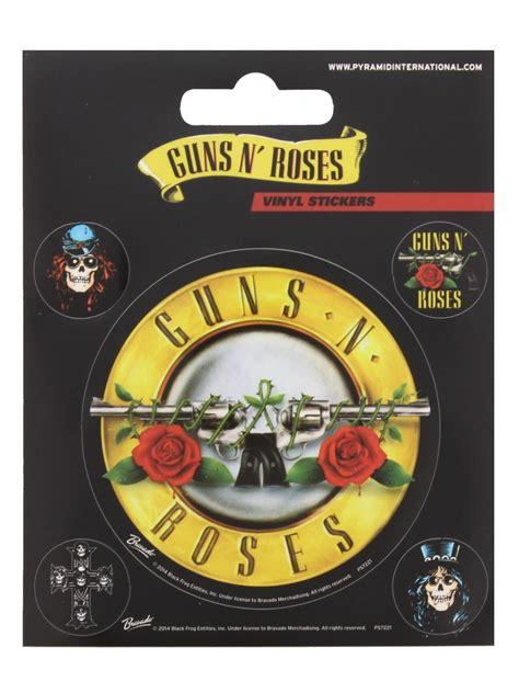 Sale Stiker Bulat 5 Cm 1 Pack Isi 15 guns n roses sticker set gnr sticker pack 10x12 5cm ebay