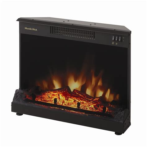 Muskoka Fireplace Reviews by Muskoka Mfi2500 Electric Masonry Fireplace Insert Atg Stores