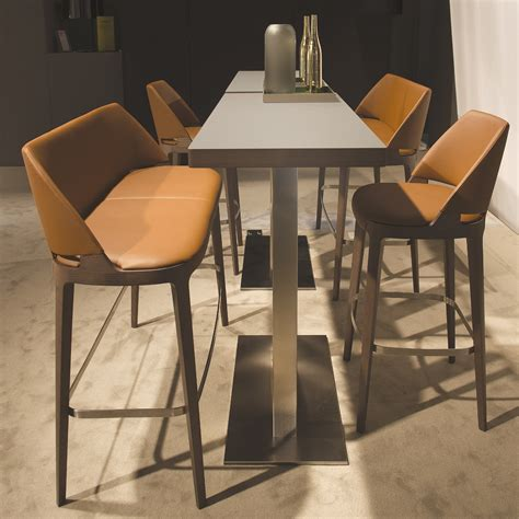 High End Designer Counter Stools by Luxury Italian Velis Stool Italian Designer Luxury