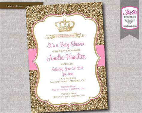 printable crown invitations 1000 images about baby shower ideas on pinterest baby