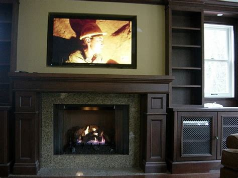 mounted tv fireplace mounting a tv a fireplace wiring
