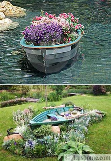 Garden Decoration Boat by Boat Reuse Ideas That You Will To See