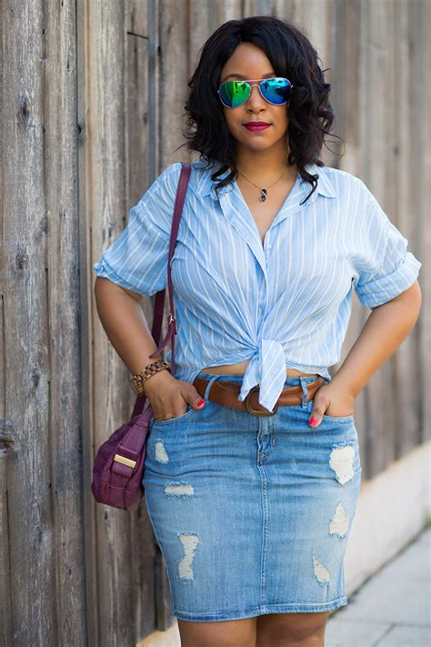 12 ways to wear denim distressed denim skirts what s haute