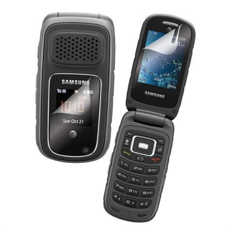 samsung rugby   att gsm flip cell phone excellent
