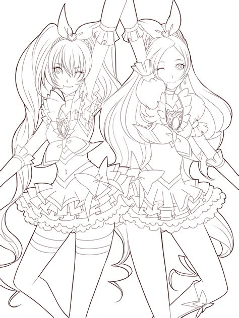 Vire Kisses Anime Coloring Coloring Pages