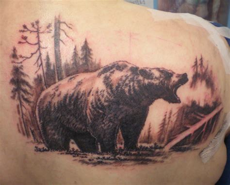 grizzly tattoo tattoos inspiring tattoos
