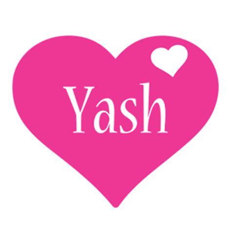 name style design yash logo create custom yash logo love heart style