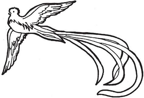 dibujos para pintar y colorear de guatemala quetzal para pintar dibujos de quetzal
