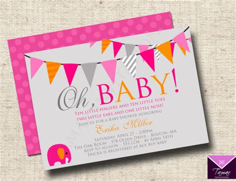 Free Baby Shower Printable Invitations by Free Printable Baby Shower Invitations Only
