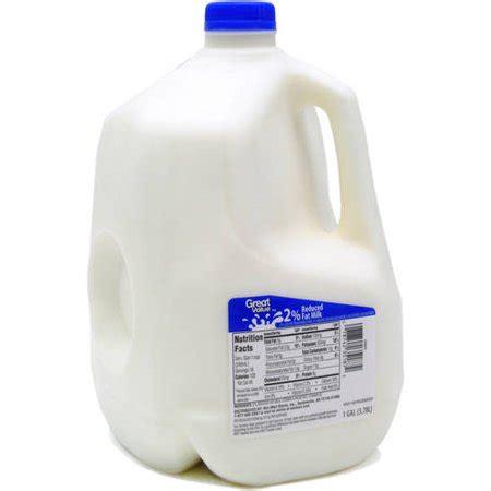 great value reduced fat 2% milk, 1 gal walmart.com