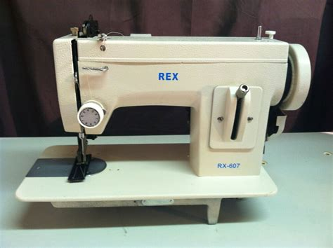Upholstery Machines Used by Rex 607 Leather Portable Upholstery Walkingfoot Heavy Duty