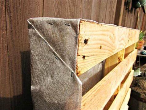 how to build pallet vertical garden