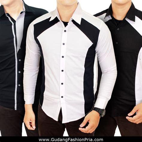 Kemeja Korea Pria Kenshi kemeja pria slimfit model korea mens slim fit korean style shirt kemeja terbaru pria 2017