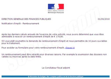 Modèle De Lettre Pour Administration Fiscale Secuser Phishing Administration Fiscale Imp 244 Ts
