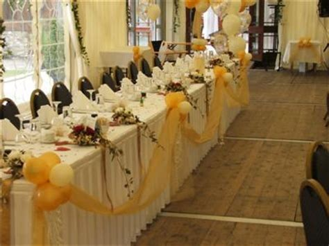 wedding party table decoration photograph decorating with